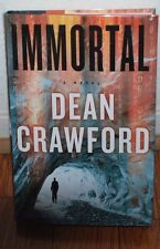 "SIGNED ""Immortal"" by Crawford, Dean BRAND NEW 1st Edition/Printing HC/DJ B9"