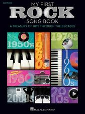 My First Rock Song Book Sheet Music Easy Piano Songbook NEW 000159640