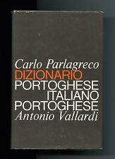 Parlagreco # DIZIONARIO PORTOGHESE ITALIANO # Vallardi Termini tecnici bilingue