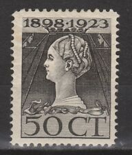 NVPH Netherlands Nederland nr. 128 MLH ong 1923 Wilhelmina Pays Bas