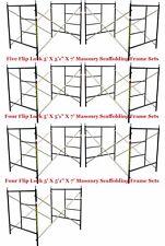 "Seven Set New Flip Lock 5' X 5'1"" X 7' Masonry Scaffold Frame Set Cbmscaffold"
