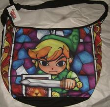The Legend Of Zelda Link Wind Waker HD Stained Glass Hobo Tote Bag Nintendo Game