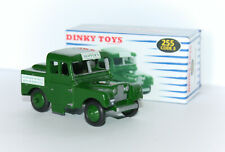 DINKY TOYS 255 Land Rover CODE 3 RESTORED/REPAINTED + Repro box