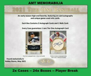 Gary Sheffield New York Yankees 2021 Topps Tier One 2X CASE 24X BOX BREAK #3