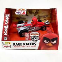 Angry Birds Rage Racers Car Motorized Toy with Sounds Red Bird - NEW IN BOX