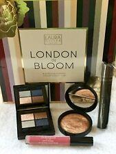 Laura Geller New York *London In Bloom* 4 Piece Collection Makeup *Deep*