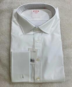 NEW Thomas Pink Business shirt Classic White Mens Sz16.5/42L RP$269