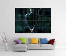 THE JOKER DARK KNIGHT BATMAN HEATH LEDGER GIANT WALL ART PICTURE PHOTO POSTER