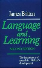 Language and Learning: The Importance of Speech in Children's Development
