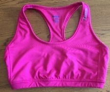 Reebok Sports Bra Workout Pink XS  Lined Yoga Fitness