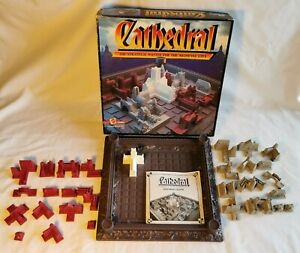 CATHEDRAL GAME - CATHEDRAL - 100% - STRATEGIC BATTLE FOR THE MEDIEVAL CITY - FUN