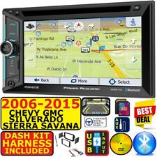 2006-2015 CHEVY GMC SILVERADO SIERRA SAVANA GPS NAVIGATION BLUETOOTH CAR RADIO
