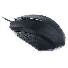 Para PC Ordenador portátil 1200 DPI USB Wired Óptico Los ratones para juegos