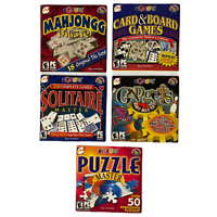 LOT OF 5 Games by EGames 2000 - 2003 PC CD ROM