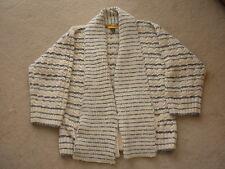 St. John Cardigan Sweater with Scarf Size M