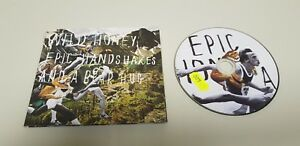 1118- WILD HONEY EPIC HANDS HAKES AND A BEAR HUG  CD DISCO ENVIO ECONOMICO