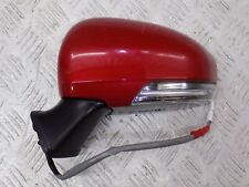 TOYOTA PRIUS 2009 - 2013 N/S/F PASSENGER FRONT WING MIRROR COLOR RED .