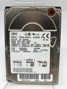 """Vintage IBM DSOA-20810 85G3631 39H2220 810MB 2.5"""" IDE Hard Drive"""