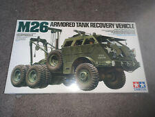 Tamiya, 1:35 scale, M26 Armored Tank Recovery Vehicle, Display Model Kit #35244