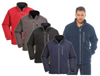 Portwest City Windproof Heavy Fleece Jacket Coat Double Sided Anti Pill F401