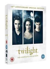 THE TWILIGHT SAGA 10TH ANNIVERSARY SPECIAL EDITION 6 DISC BOX SET BLU-RAY RB NEW