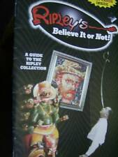 Ripley's Believe It Or Not Millennium Collector's Edition Book- Guide To Ripley