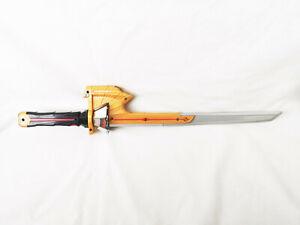 ACTION MAN GOLD SAMURAI SWORD GOLD PLASTIC SERRATED EDGE