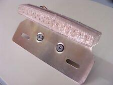 feu arrière a LED avec support de plaque    (feu+stop+éclairage de plaque)