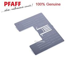PFAFF 100% Genuine NEEDLE PLATE Expression Range etc No. 412964308