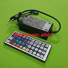 1pcs 5A 12V Power supply & 44key RF controller For 3528 5050 RGB LED strip light