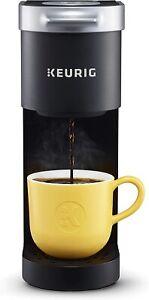 Keurig K-Mini Single Serve K-Cup Pod Coffee Maker, Up 12 Oz Brewer - Matte Black