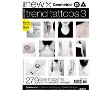 GEOMETRIC Reference Book Trend Tattoos 64-pages Color Photo Design Art Supply