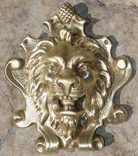 Elément Architectural XIX ème Lion en Bronze
