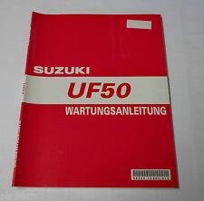 Werkstatthandbuch Suzuki UF 50 Stand 04/2000