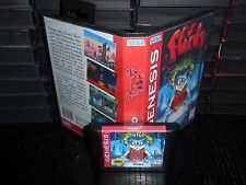 Flink for Sega Genesis! Cart and Box!