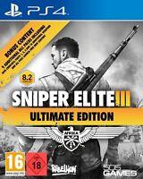 PS4 Juego Sniper Elite (III) 3-Última Edición Producto Nuevo
