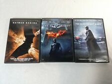 The Dark Knight Trilogy. Batman Begins, The Dark Knight, Dark Knight Rises (DVD)