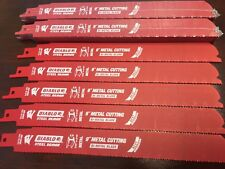 "25 PK  Diablo 9"" Sawzall Blades METAL DS0914BF25 FITS MILWAUKEE M18 2720-20"