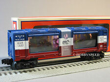 LIONEL BAR ANIMATED AQUARIUM CAR 7000 fish 81021 o gauge train Maine 6-81035 NEW