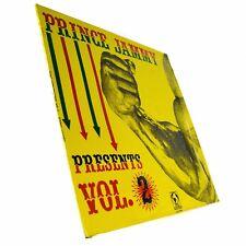 "1986 Prince Jammy Presents Vol. 2 Record LP Vinyl 12"" LALP-004 Live And Love"