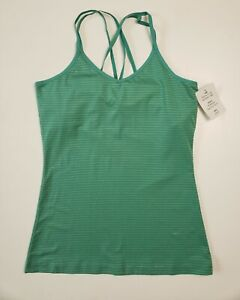 GoLite Womens Jade Green ReActive Activewear V-Neck Cami Tank Top SZ S - NEW!