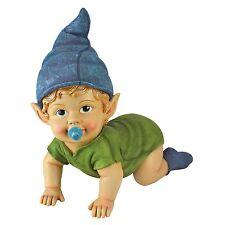 "11"" Blaze the Baby Gnome Statue Outdoor Decor Figurine Figure Elf"
