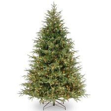 National Tree Company 7.5' Fraser Grande Artificial Christmas Tree pre lit clear