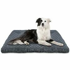 INVENHO Dog Bed Crate Pad Mat Soft Washable Anti-Slip Kennel Bed for Large Me...