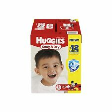 Huggies Snug & Dry Diapers Size 6 140 Count (One Month Supply)