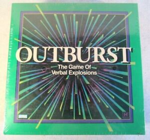 Outburst The Game of Verbal Explosions Parker Brothers NEW Sealed Vintage 1994