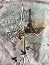 Double Duvet Cover Set Paris Theme