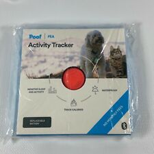 NEW Poof Pea Activity Tracker Cat Dog PET Monitors Sleep CALORIE RECHARGEABLE