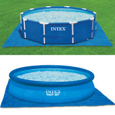 INTEX Bodenschutzplane Bodenplane für Easy Set Quick Up Swimming Pools 472x472cm
