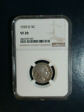1920 D Buffalo Nickel NGC VERY FINE 20 5C Coin PRICED TO SELL FAST!
